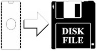 save device to disk file