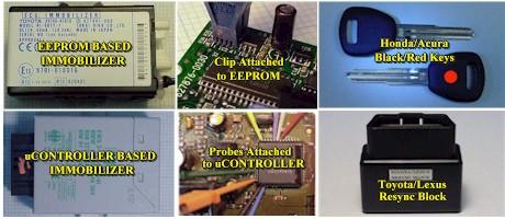Locksmith Immobilizer Reprogramming And Reflashing Kits