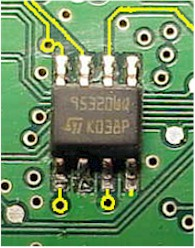 In-circuit reading and programming of eeproms and microcontrollers
