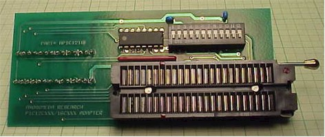 EPROM and DEVICE Programmer Technology Family Adapters and